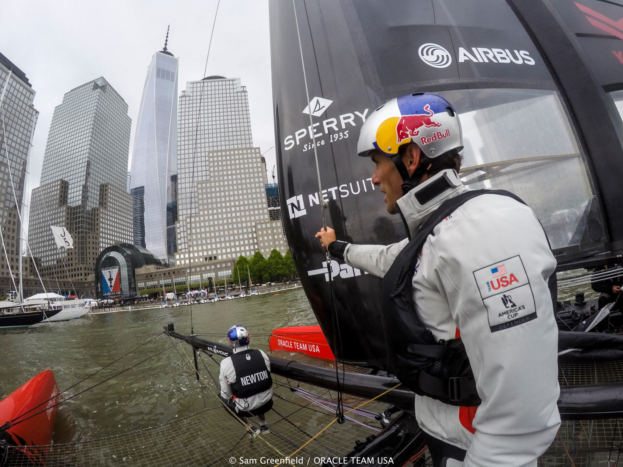 America's Cup World Series Racing on the Hudson - Is that the Problem? by  in